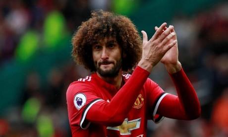 Marouane Fellaini prolonge avec Manchester United jusqu'en 2020