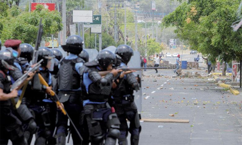 Plusieurs habitants ont fait état de deux exécutions sommaires de manifestants désarmés, dont un mineur de 15 ans. Un policier a également été tué, selon les autorités.                                                                                                                              Ph. AFP