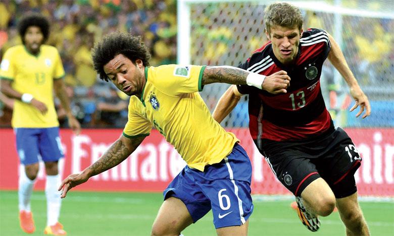 L'ogre brésilien et la Mannschaft en duel à distance