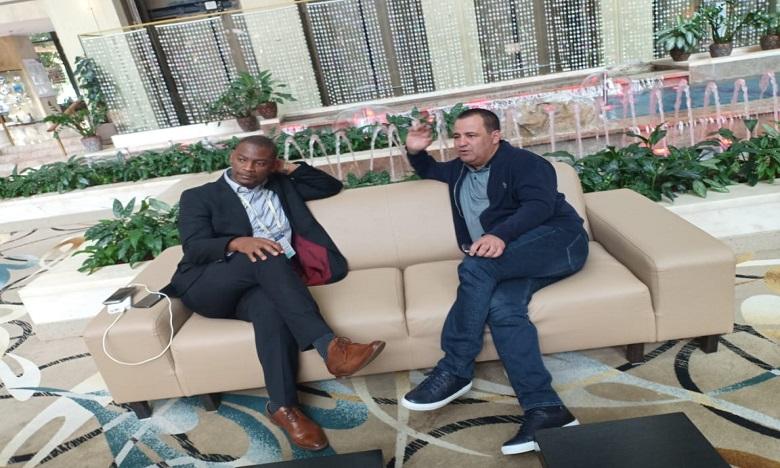 Walter Nyamilandu : «Je vote le Maroc»