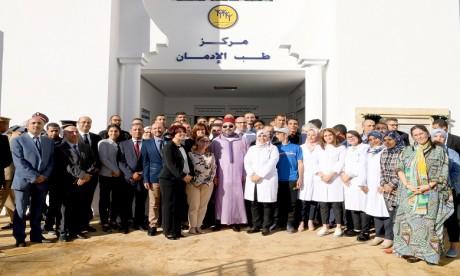 S.M. le Roi inaugure un deuxième Centre d'addictologie à Tanger