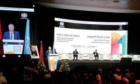 Marrakech abrite un débat mondial sur la transformation de la gouvernance administrative et les objectifs de développement durable