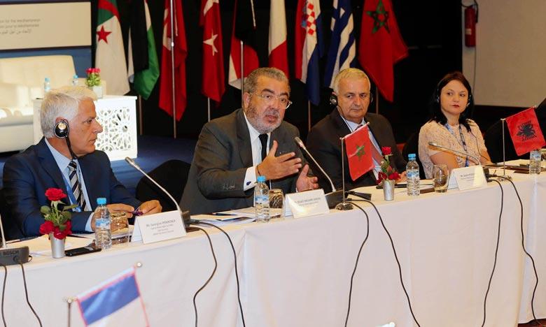 L'Agence Maghreb Presse (MAP) a été portée à la présidence de l'Aman pour la période 2017-2018, lors la 26e Assemblée générale de l'aman qui s'est tenue le 5 juillet 2017 à Agadir. Ph : MAP