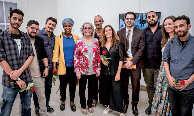 Exposition collective de huit artistes marocains