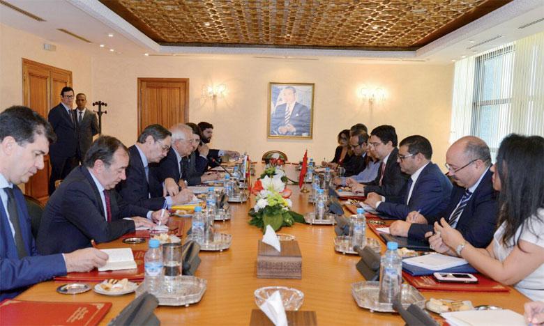 Les relations entre le Maroc et l'Espagne sont un «modèle de coopération dans des domaines très sensibles».