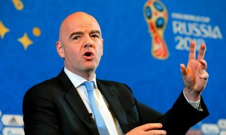La Fifa changera sa formule de classement après le Mondial-2018
