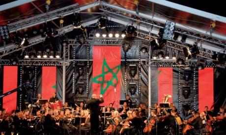 Concert du programme socioculturel Mazaya