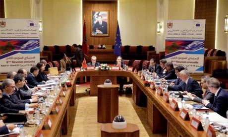 La Commission parlementaire mixte Maroc-UE tient aujourd'hui sa neuvième réunion annuelle