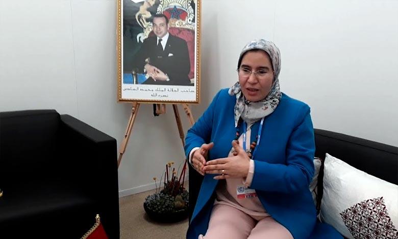 La SNDD constitue un engagement des différentes parties concernées pour atteindre les objectifs communs permettant de contribuer à relever les défis fondamentaux dans le domaine du développement durable, a souligné, Nezha El Ouafi. Ph : DR