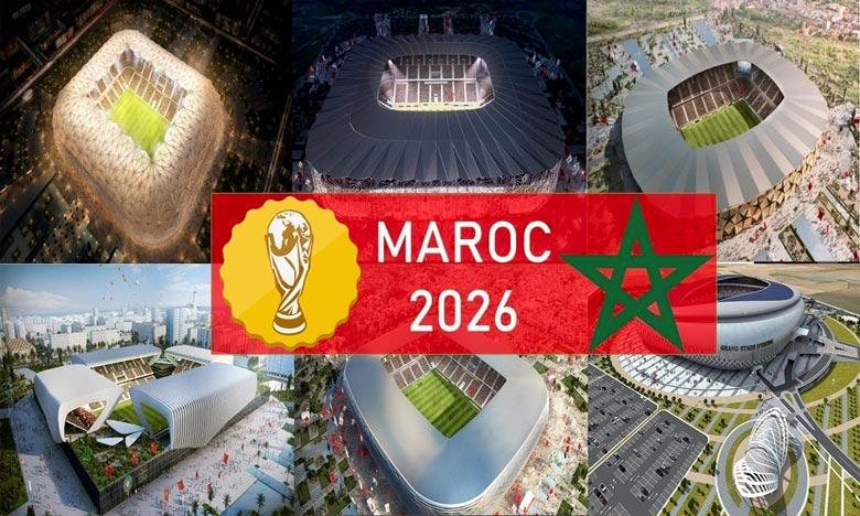 Une délégation du Morocco 2026 à Abu Dhabi
