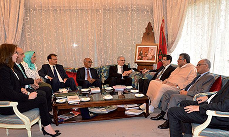 Saâd Eddine El Othmani s'entretient à Rabat avec une délégation du Parti de l'Istiqlal