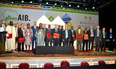 Selon l'Iresen, le GreenAIB s'impose comme une plateforme de rencontres, d'échanges et de promotion de l'innovation verte itinérante en Afrique. Ph : MAP