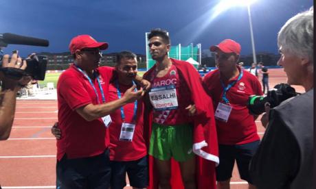 Essalhi décroche la troisième médaille d'or marocaine, l'argent pour Bouqantar