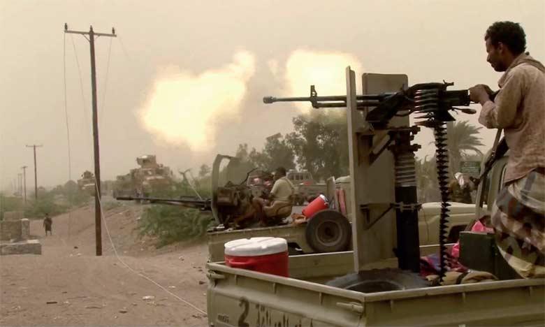 L'aéroport de Hodeïda a été complètement nettoyé de la présence des rebelles et il est sous le contrôle total des forces progouvernementales, a indiqué le commandant émirati des forces de la coalition.                    Ph. AFP