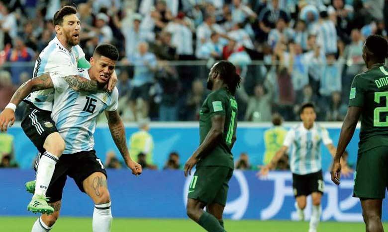 Portée par Rojo et Messi, l'Argentine passe de l'agonie à l'euphorie et va en huitième de finale.