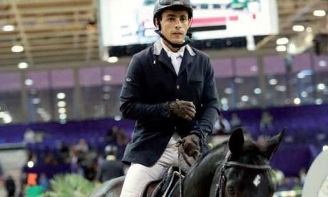 Hicham Erradi décroche le Prix S.A.R. le Prince Héritier Moulay El Hassan