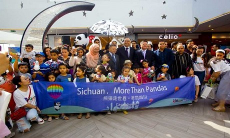 Tourisme : opération séduction de la province chinoise du Sichuan