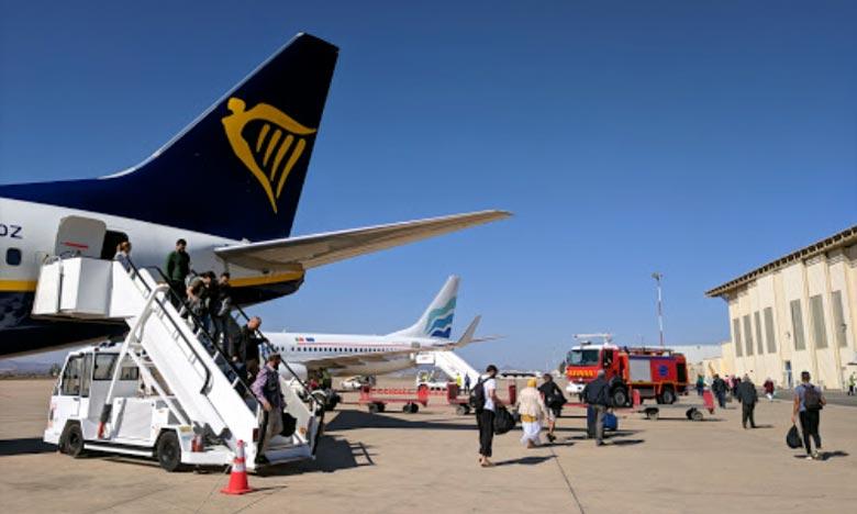Selon des données de l'ONDA, les passagers ayant transité via l'aéroport Nador Al-Aroui, durant le mois de mai, se répartissent entre 21.859 à l'arrivée et 27.390 au départ. Ph : DR
