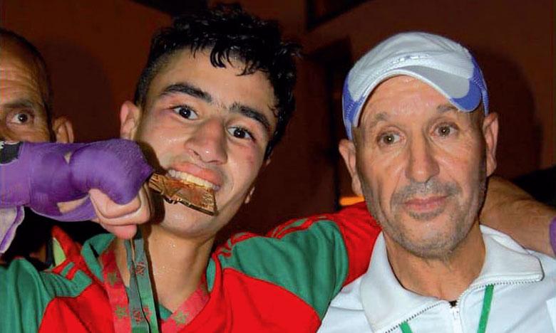 Mohamed Assafi champion du Maroc  des 60kg espoirs