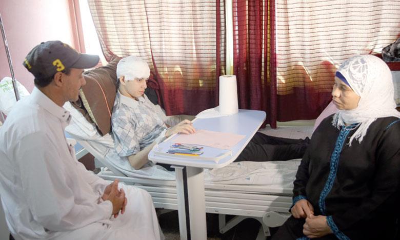 L'élève Mehdi Barih défie la maladie et passe les épreuves  de l'examen régional