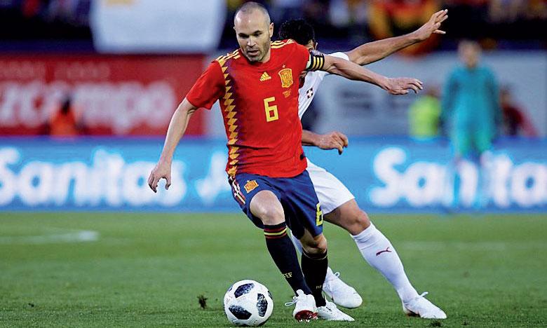 Andrès Inesta a donné beaucoup de fil à retordre à la défense helvétique.