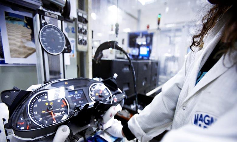 L'activité de l'équipementier italien Magneti Marelli à Tanger Automotive City, profitera au tissu de fournisseurs locaux auprès desquels s'approvisionnera l'usine de Tanger. Ph : DR