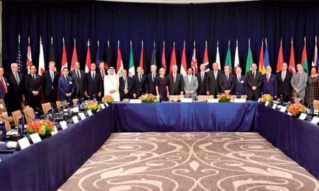 Les directeurs politiques de la Coalition mondiale contre Daech examinent à Rabat les moyens de contrecarrer la menace terrorisme en Afrique