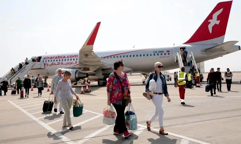 La connectivité aérienne Nador-Casablanca d'Air Arabia-Maroc, sera opéré avec un avion biréacteur de type Airbus A320 d'une capacité de 174 sièges. Ph : MAP