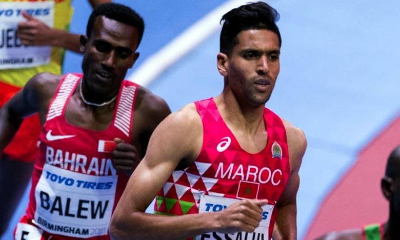 Le Marocain Younes Essalhi  conserve sa 5e place  à la Ligue de diamant à Oslo