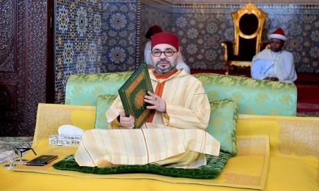 S.M. le Roi, Amir Al Mouminine, préside à Rabat la huitième causerie religieuse du mois sacré du Ramadan
