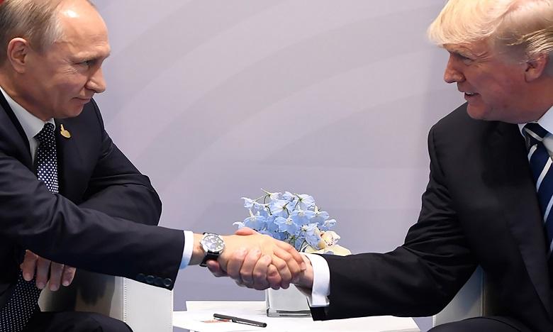 Le 1er sommet Poutine/Trump à Helsinki  le 16 juillet