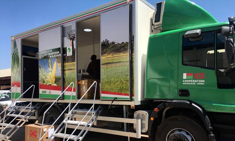 La caravane agricole de la Fondation OCP pose pied en Ethiopie