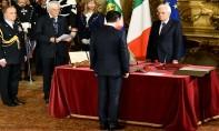 Le nouveau chef du gouvernement italien a prêté serment