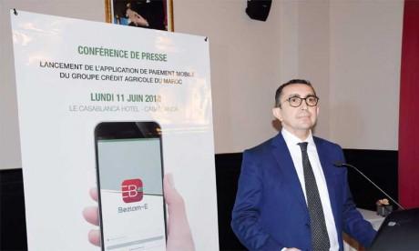 «Beztam-E» n'est pas destinée uniquement aux clients du GCAM, mais aussi aux clients non bancarisés, a indiqué Abdelmounaïm Dinia, directeur général adjoint du groupe. Ph. Saouri