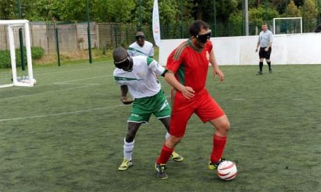 Cécifoot : le Maroc décroche une victoire à Madrid