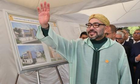 Sa Majesté le Roi Mohammed VI lance les travaux de construction d'un Centre d'addictologie à Benslimane