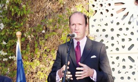 Jean-François Girault, ambassadeur de France au Maroc présidera à Rabat la cérémonie «Ambassade verte».Ph. DR