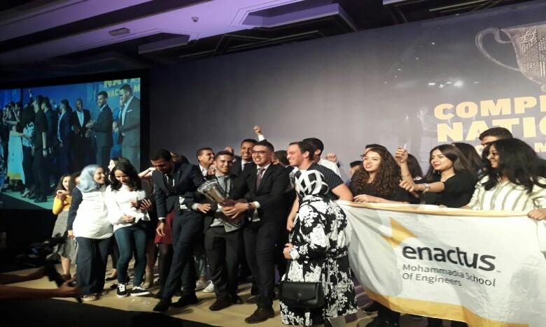 Enactus EMI élue championne du Maroc