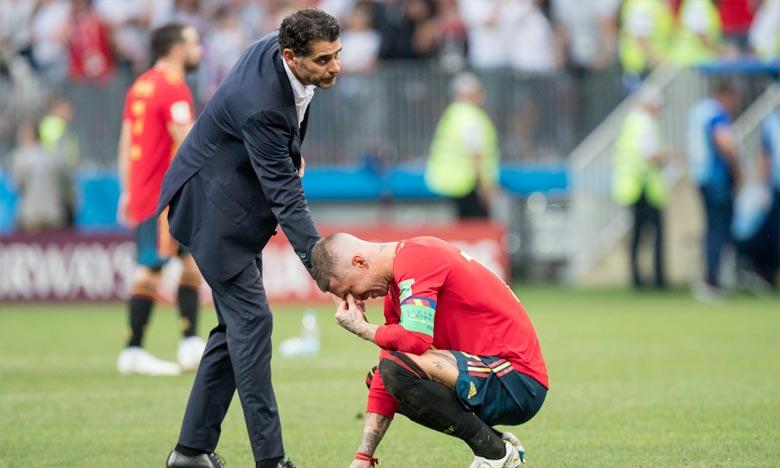 La RFEF et Fernando Hierro ont mis un terme à leur relation après la fin de la participation de l'Espagne à la Coupe du monde en Russie. Ph : AFP