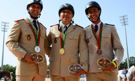 Les Championnats du Maroc militaire et de dressage rendent leur verdict à Dar Es Salam