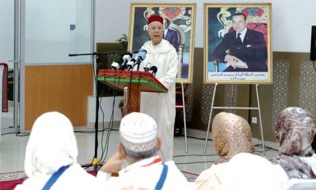 S.M. le Roi, Amir Al Mouminine, invite les pèlerins marocains à représenter comme il se doit leur pays et à être les porte-étendards de sa civilisation séculaire
