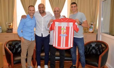 Miroslav Markovic, 9e recrue du HUSA qui affiche de fortes ambitions pour la prochaine saison