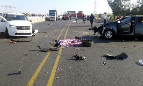 Accidents de la circulation : 20 morts et 1.850 blessés en une semaine