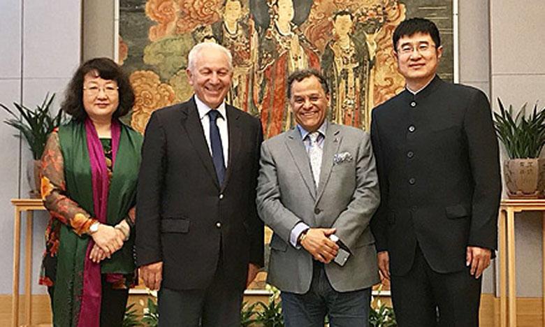 Renforcement de la coopération entre la Fondation nationale des musées du Maroc et le Musée de Pékin