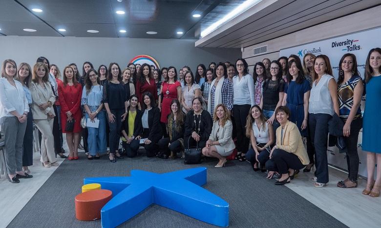 Plusieurs femmes dirigeantes des secteurs clés de la société marocaine ont pris part à la rencontre organisée par CaixaBank.