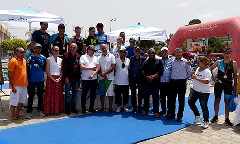 Le Triathlon de Rabat était parfaitement à la portée, eu égard à plusieurs avantages climatiques, en l'occurrence l'absence des courants marins au fleuve Bouregreg et la pénurie des hauteurs. Ph : DR