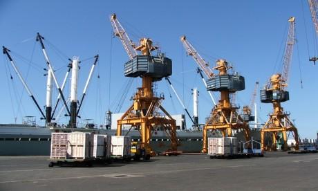 L'activité des ports en hausse de 3,9% à fin mai, tirée par les importations