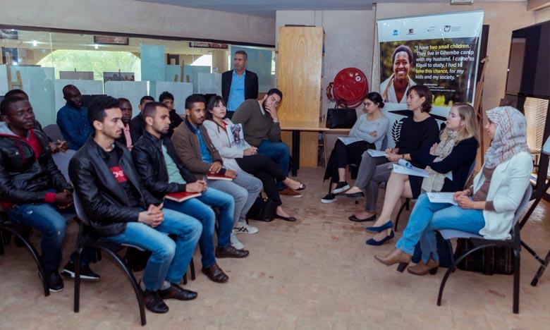 Le programme «Dafi» permet aux réfugiés boursiers d'accéder à de bonnes opportunités sur le marché du travail dans le pays d'accueil ou pays d'origine une fois de retour. Ph : DR