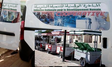 L'INDH poursuit son appui à la province Khouribga