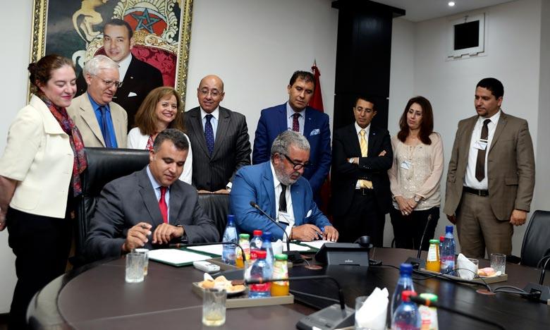 Signature d'un Mémorandum d'entente entre MAP-MGH